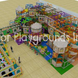 3 level castle playground