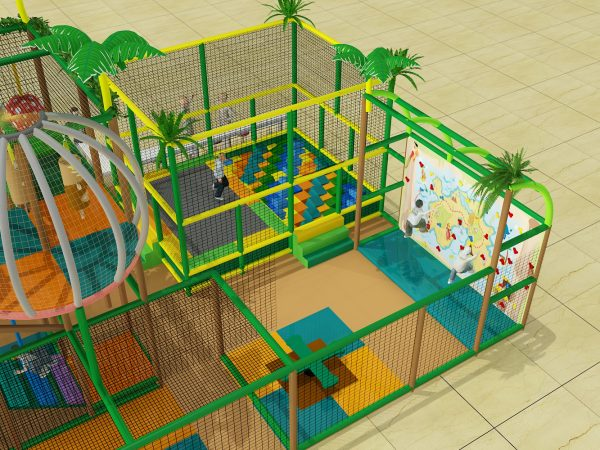 4 level jungle playground