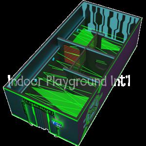 laser maze room